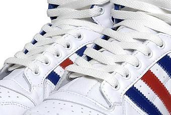 online retailer 09d81 46d01 Adidas Decade Mid OG White-Lone Blue-Light Scarlet dispo  À