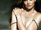 Katie Holmes très sensuelle pour bijoutier H.Stern