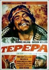 cinéma,film,western,western italien,1969,giulio petroni,trois pour un massacre,tepepa,tomas milian,orson welles,john steiner,josé torres,angel ortiz,annamaria lanciprima,ennio morricone