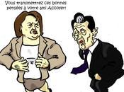 Aubry coince Sarkozy dans ring