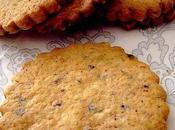Biscuits croustillants noisette chocolat