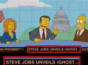 Simpsons ironisent mort Steve Jobs