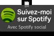 Suivez-moi sur Spotify