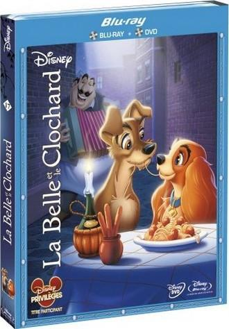 La belle et le clochard en Blu-Ray