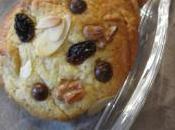 Cookies raisins secs, noix amandes effilées