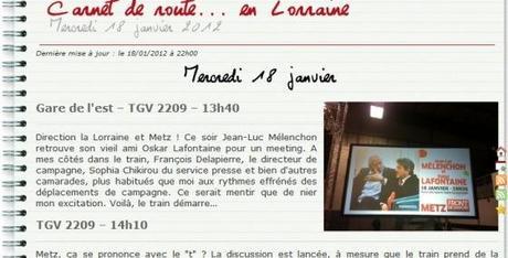 Mélenchon : Arrêt station Messine, entre Rouge et République