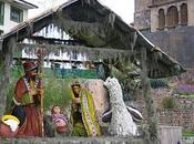 Pérou: crèches Noël Andes.