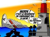 DESSIN PRESSE Risque élevé pollution après naufrage Concordia