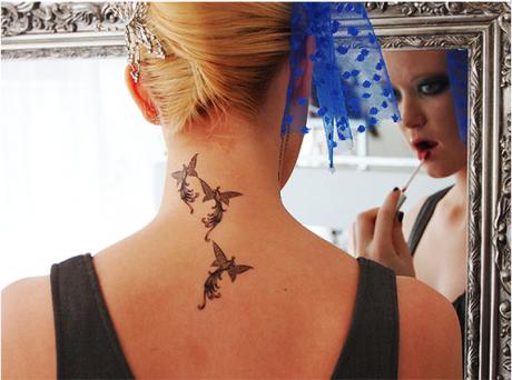 La découverte du dimanche : Les tatouages éphémères FakeTatoos