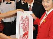 Nouvel chinois: l'année Dragon d'eau