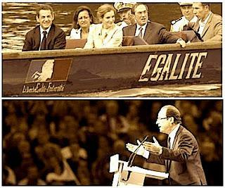 Sarkozy bousculé par Hollande, l'UMP stresse
