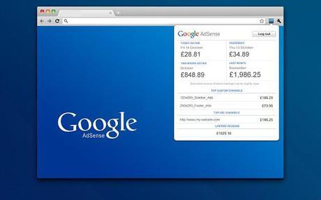 Une extension Adsense pour Google Chrome?