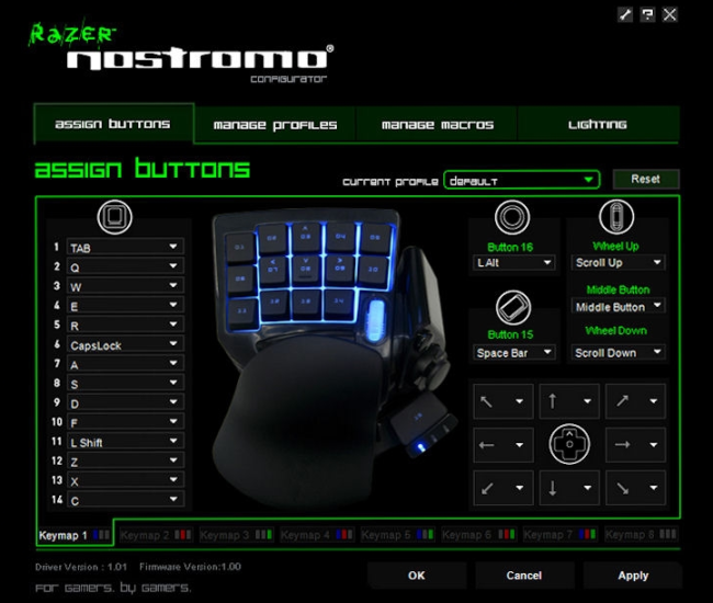 razer1 [High Tech] Test du Razer Nostromo