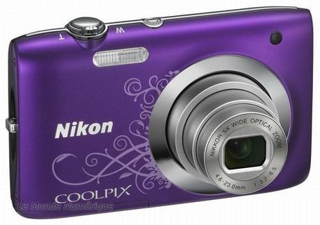 Nouvel appareil photo numérique Nikon Coolpix S2600, toujours à vos côtés