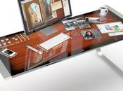 iDesk bureau futuriste