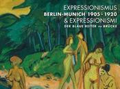 Expressionnismus, expressionnismi, Blaue Reiter Brücke, exposition Pinacothèque