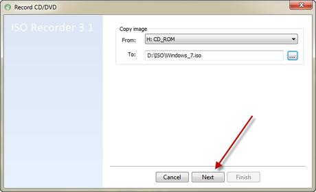 Créer son image ISO d'un CD/DVD