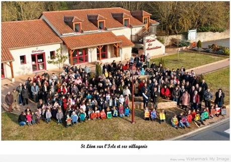 photo de groupe de St Léon