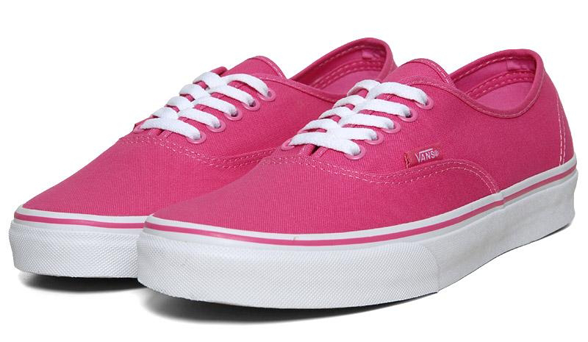 chaussure vans femmes rose