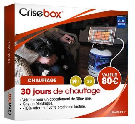 crisebox coffret crise gnd geek La crisebox: la box quil vous faut humour 2 geek gnd geekndev