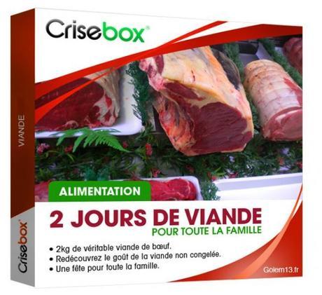 crisebox cadeau viande crise coffret gnd geek La crisebox: la box quil vous faut humour 2 geek gnd geekndev
