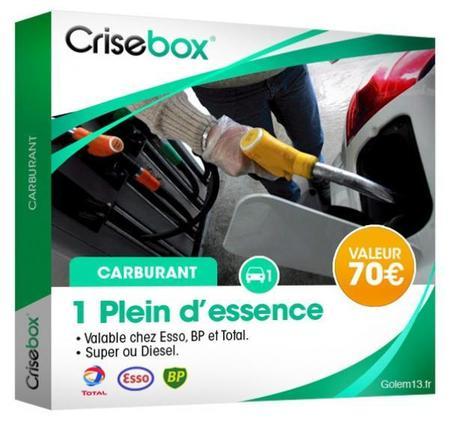 crisebox cadeau crise essence gnd geek La crisebox: la box quil vous faut humour 2 geek gnd geekndev