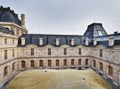 magnifique voile verre métal pour Louvre