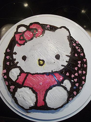 Gateau anniversaire pour les 6 ans de ma fille paperblog - Gateau anniversaire 2 ans ...