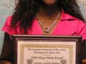 Trophée Washington pour savante Sandrine Ngalula Mubenga