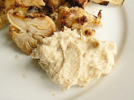 crème de chou-fleurs cacahuètes