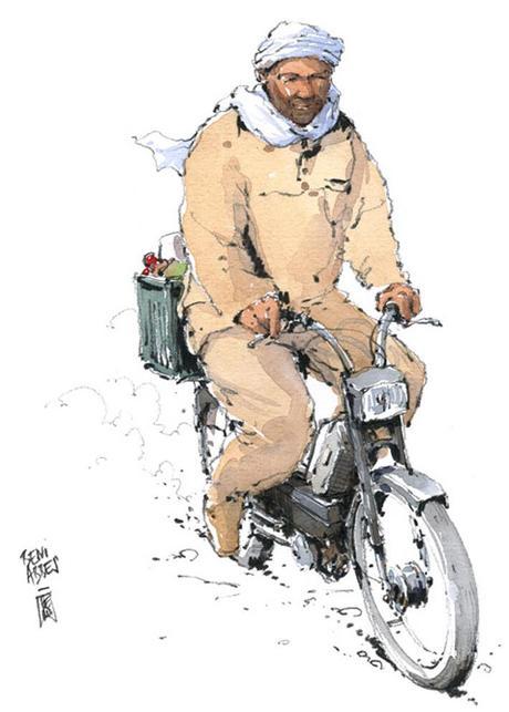 Renaud Marca illustrateur et Claire Marca racontent leurs voyages à travers le monde, en mots et à l'aquarelle