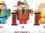 Bugdroid pour Nouvel Chinois