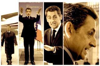 Sarkozy, candidat ébranlé, président figurant