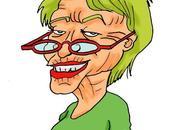 Caricature d'Eva Joly