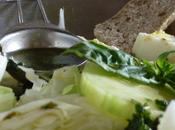 Salade chou blanc, assaisonnement sweet saur