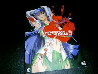 [Mes Derniers Achats Manga] Highschool of the Dead Edition couleur tome 2 et GTO Shonan 14 days tome 3