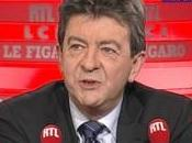 Mélenchon invité grand jury prise notes sonores…