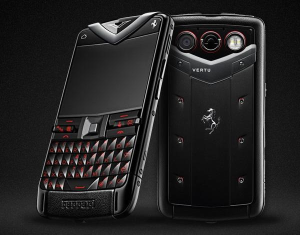vertu constellation quest ferrari Vertu annonce son Constellation Quest Ferrari