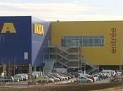 centre commercial côté l'IKEA Caen