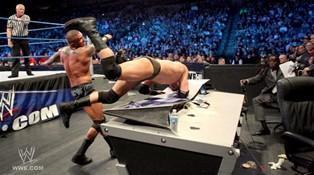 Match sans disqualification entre Randy Orton et Wade Barrett lors du Smackdown du 03/02/2012