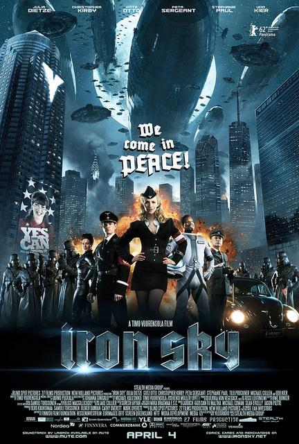 They're coming – Iron Sky en salle Avril 2012