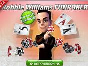 Robbie Williams créer site poker