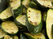 Tartines courgettes jambon plancha