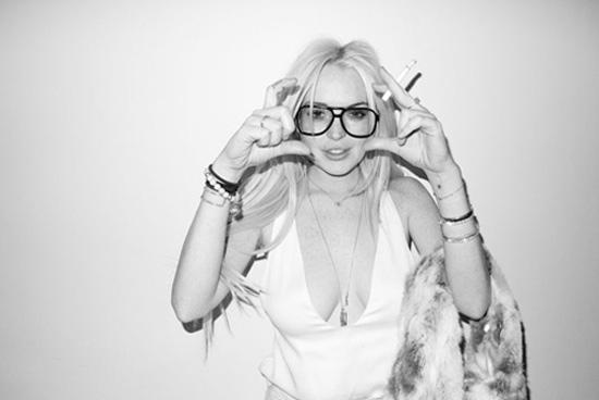 Lindsay Lohan les photos sexys du shooting de Terry Richardson
