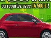 Gagnez Fiat repartez avec 14.500 euros