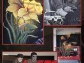 Murale graffiti chez concessionnaire Longueuil