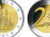 château Louis Bavière pour deux euros: nouvelle pièce commémorative représente Neuschwanstein