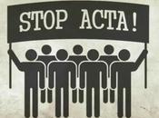 demande rejet l'ACTA