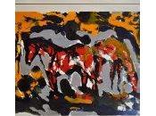 Espalioux peintre lumiere entre cheval cyclisme