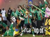 2012 Zambie sacré Championne d'Afrique (vidéo)